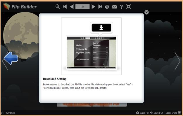 Windows 7 eFlip Brochures Maker for Html5 1.0 full