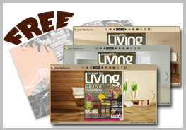page flipping cover - modern home