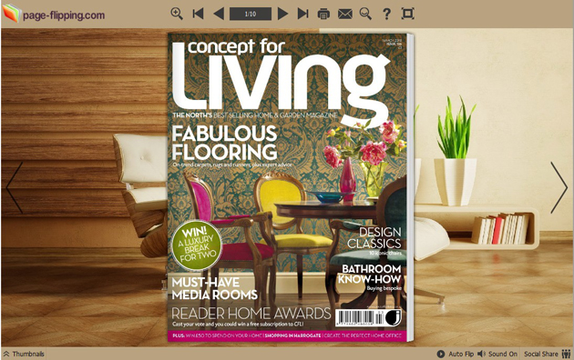 Page Flipping Themes for Modern Home Style 1.0 full
